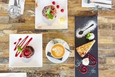 coffee, cakes by Garuma, Airlie beach, Whitsundays, Airlie beach