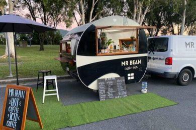 Mr Bean Coffee Caravan, Airlie beach, Whitsundays, Airlie beach