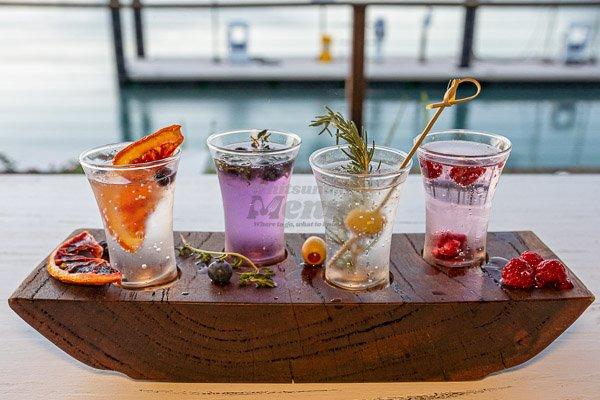 gin teaser board