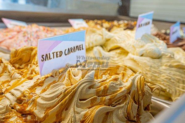 house made gelato, la marina pizza restaurant, airlie beach, Whitsunday Region, Queensland