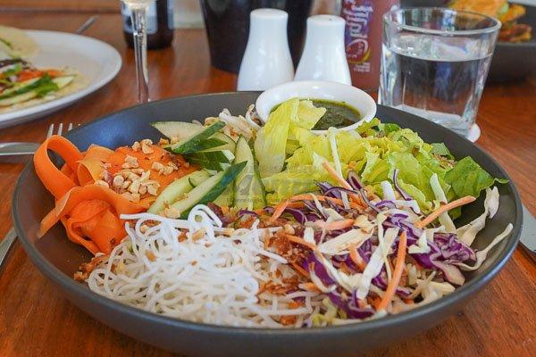 Vegan Poke Bowl The Deck, Main Street Airlie Beach, Whitsunday Region, Queensland