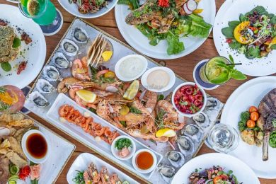 Dishes, Served at Northerlies Beach Bar & Grill, Airlie Beach, Whitsundays