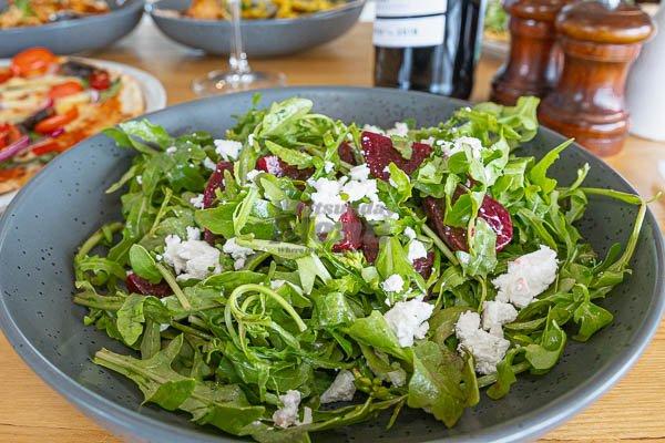 beetroot, fetta salad by Sorrento Restaurant, Airlie Beach