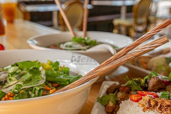 Vietnamese Pho by d'Viet House, Airlie Beach, pool restaurant