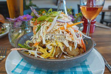 Vegetarian Salad, served at 22 Buttercup Lane, Proserpine, Whitsundays