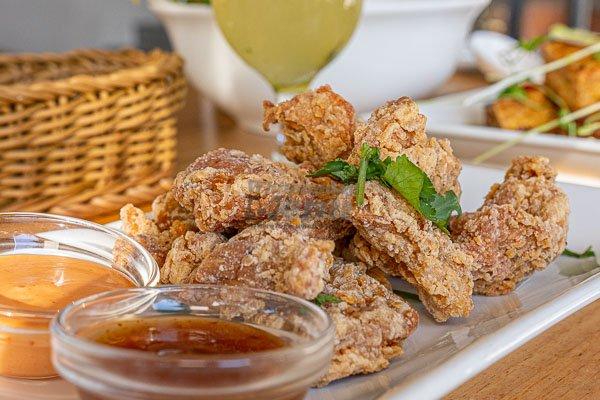 Salt & Pepper Crispy Chicken, d'Viet House, Airlie Beach,