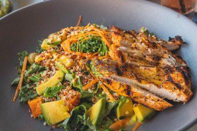 Vegetarian Superfood Salad, in Garden Bar and Bistro, Airlie Beach, Whitsundays, Queensland