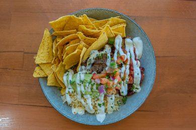 Burrito Bowl, Served at Mika Airlie Beach, Whitsundays