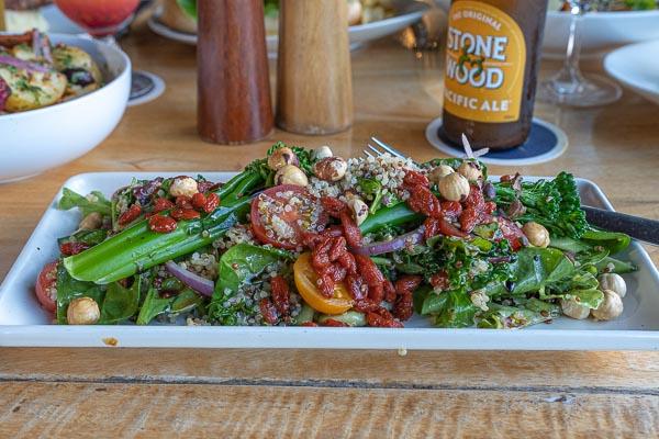 Superfood Salad at  Northerlies Beach Bar & Grill, Airlie Beach