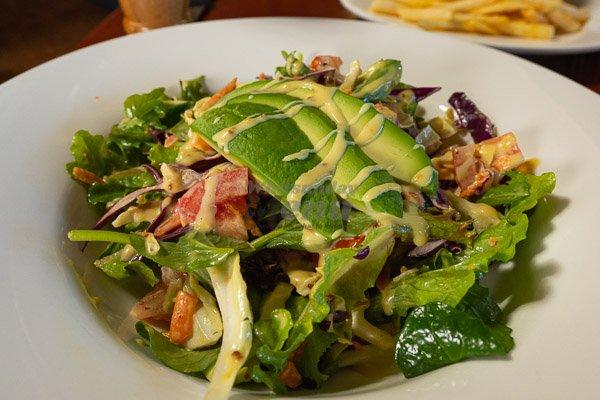 salad at Banjos, Bar & Bistro, Cannonvale, Whitsundays
