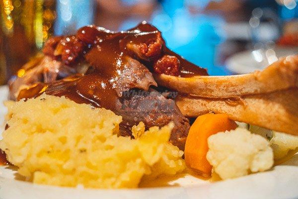 Roast Lamb & Vegetables at Banjos, Bar & Bistro, Cannonvale, Whitsundays