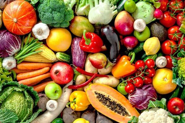 Vegetarian Vegetables in a bunch