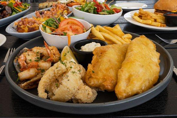 Seafood Plate, Jubilee Tavern, Jubilee Pocket, Whitsundays