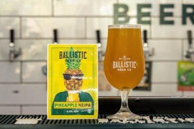 Pineapple Neipa, Ballistic Brewery, Airlie Beach, Whitsundays